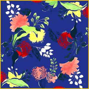 zinadeplagny-large scarf-LaIslaBonita-blue