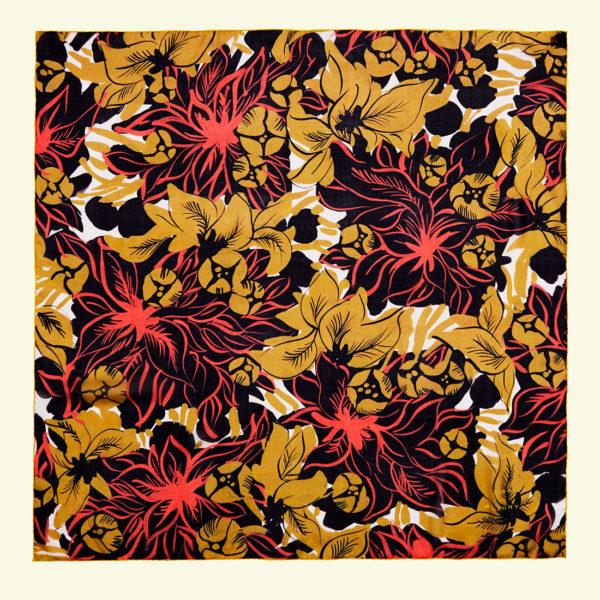 zinadeplagny-silkchiffon-scarf-fleurs-ochre
